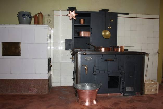 Prunkstück I Der alte, funktionstüchtige  Kochherd