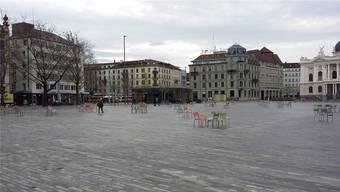 Die Initiative «Freier Sechseläutenplatz» will, dass der Platz künftig an 300 Tagen frei bleibt.