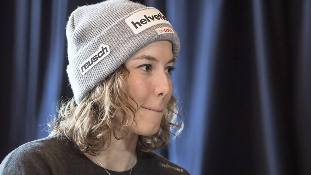 Michelle Gisin musste die letzte Saison verletzungsbedingt schon Ende Januar beenden - nun kehrt sie in Engelberg in den Weltcup zurück.