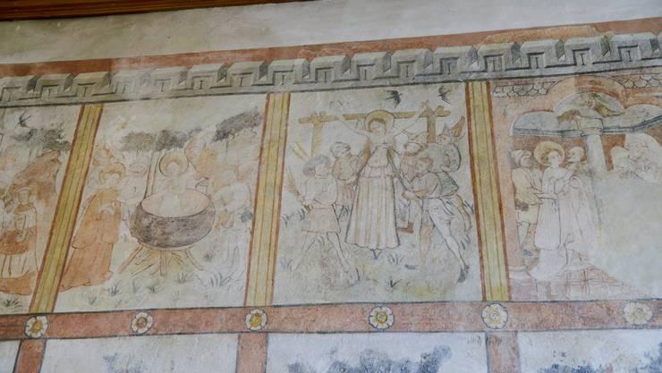 Dorothea wird im wallenden Oel gebadet und danach gefoltert