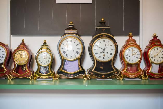 Preziosen der Uhrmacherkunst.