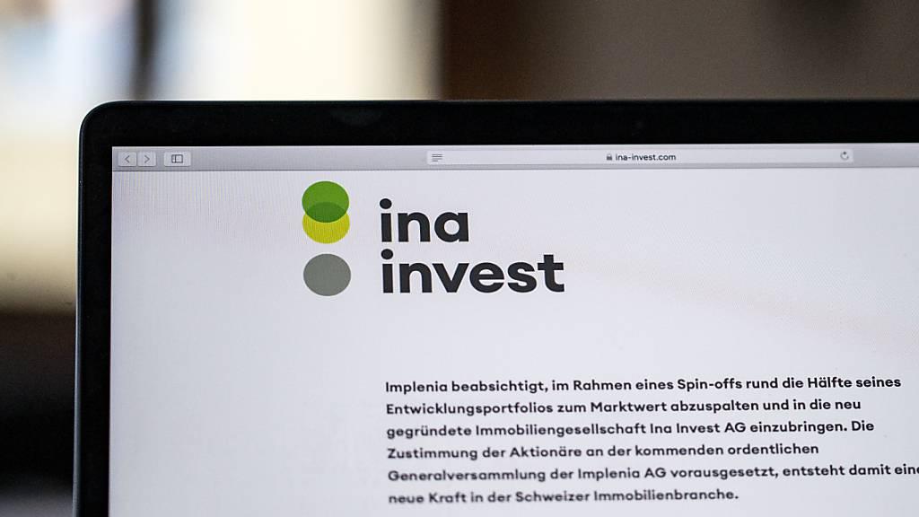 Implenia-Aktionäre zeichnen knapp 60% der ausgegebenen Ina-Aktien