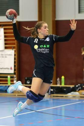 Patrizia Brunner erzielte bei ihrem Debüt drei Tore für die HSG