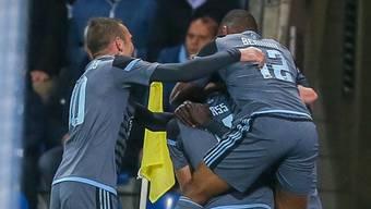 Celta Vigos Spieler dürfen sich über den Halbfinal-Einzug in der Europa League freuen