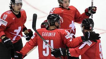 Ryan Gardner liess die Schweizer ein erstes Mal jubeln