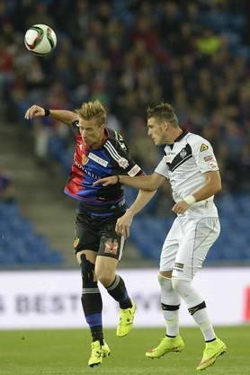 Klicken Sie sich durch die besten Bilder des Spiels: FC Basel - FC Lugano