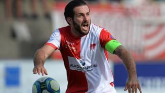 Der FC Solothurn um Captain Loïc Chatton teilte im dritten Saisonspiel zum zweiten Mal die Punkte.
