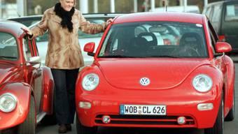 """Der Absatz hatte zuletzt gelitten: VW stellt die Produktion des Käfers-Nachfolgers """"New Beetle"""" 2019 ein. (Archivbild)"""