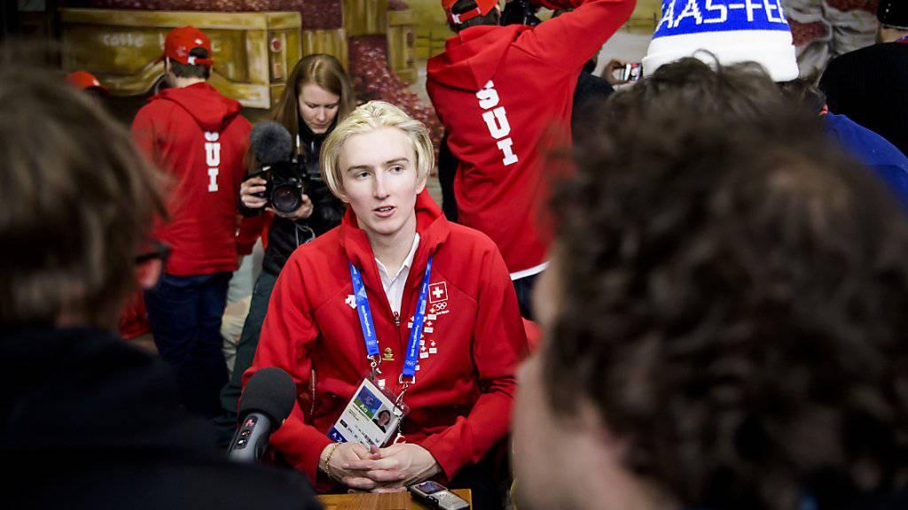 Andri Ragettli gibt in Pyeongchang sein Olympia-Debüt.