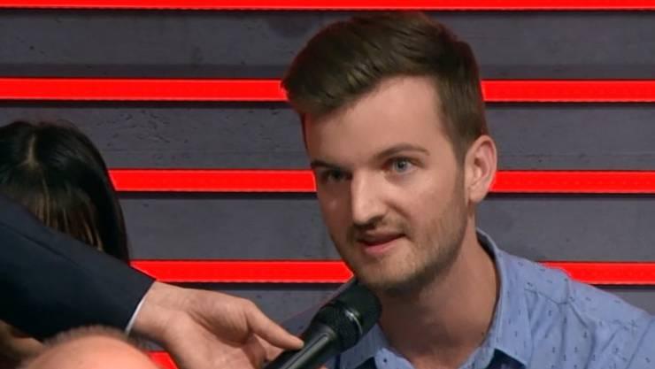 Will kein amerikanisches Mediensystem: Student Christian Schöpfer.