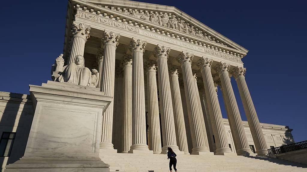 Der Supreme Court in Washington. Foto: J. Scott Applewhite/AP/dpa
