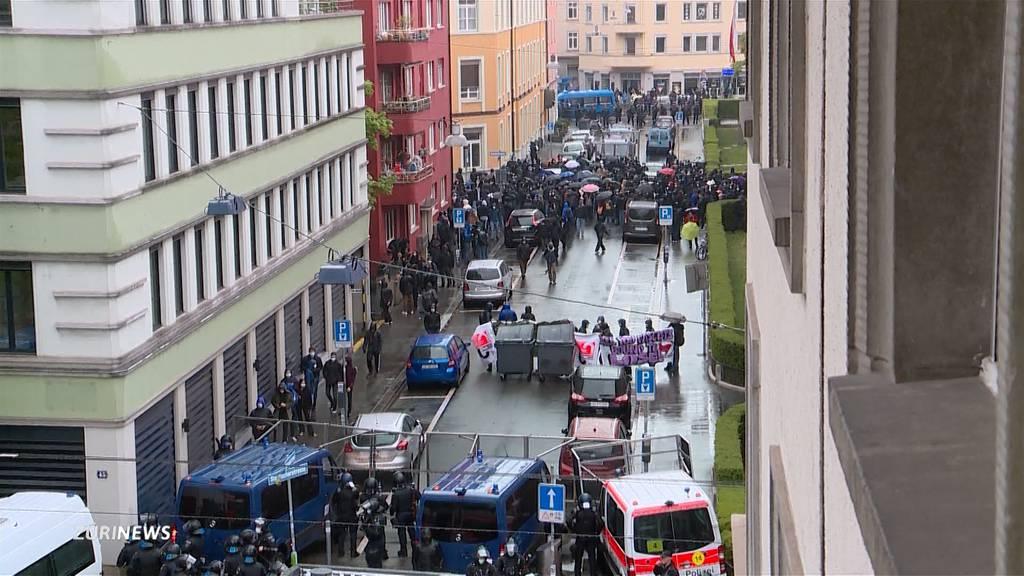 1. Mai seit 10 Jahren ohne grosse Krawalle in Zürich