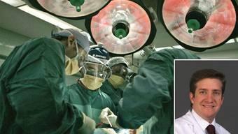 Eine solche hat Javier Fandino, Chefarzt der Neurochirurgischen Klinik am Aarauer Kantonsspital (KSA), weltweit erstmals durchgeführt.