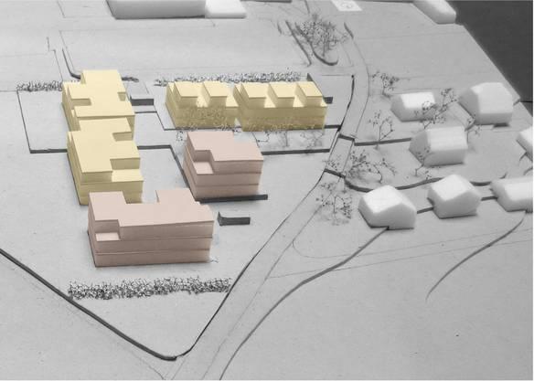 Je nach Projekt hätten auf dem Areal 11 bis 39 Wohneinheiten Platz. Diese würden in Reihen- und Doppeleinfamilienhäusern sowie in Mehrfamilienhäusern unterkommen.