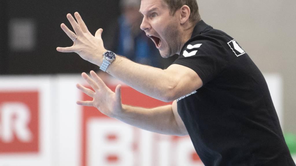 Ziel erreicht: GC Amicitias als «Feuerwehrmann» geholter Coach Petr Hrachovec schaffte mit den Zürchern den Ligaerhalt