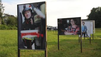 Porträts entlang des Kreuzwegs zwischen Starrkirch und Wil. cze