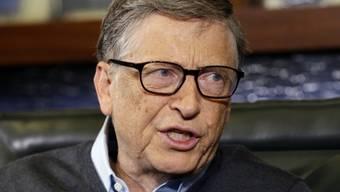 Bill Gates hält 3 Prozent der Sika-Stimmrechte (Archiv)