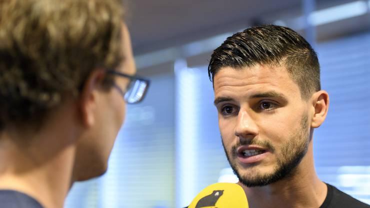 Wegen Terminkollision: Loris Benito wird am Aargauer Cupfinal nicht Speaker sein.