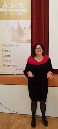 Referentin Frau Irmgard Schaffenberger