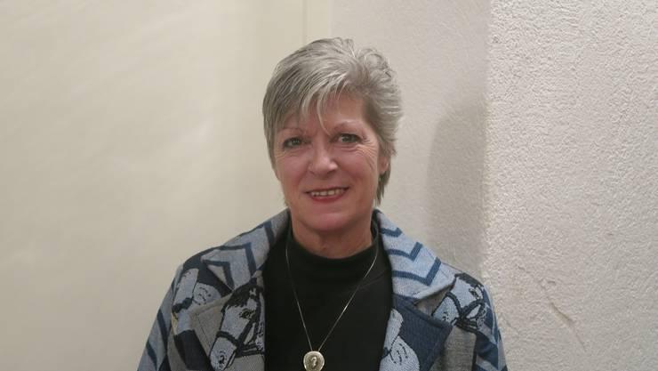 Pferde auf dem Blazer: Antoinette Meier ist die Präsidentin des Linedanceclubs. (LYL)