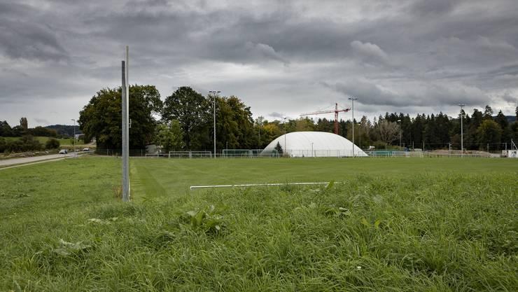 Schauplatz der Steinwurf-Attacke auf einen Schiedsrichter: Der Sportplatz Tägerhard in Würenlos