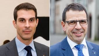 Der parteiinterne Wahlkampf um die Ständeratsnomination zwischen Thierry Burkart und Matthias Jauslin spitzt sich zu.