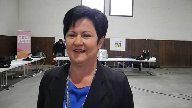 Marianne Meister liegt  deutlich hinter den anderen drei Ständeratskandidaten zurück. Wie geht sie damit um?