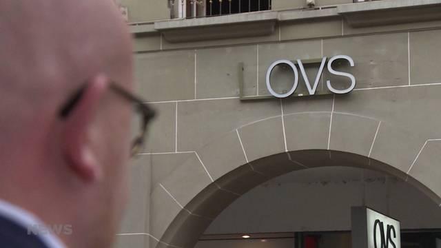 Tiefpreise für Ladenfläche von OVS