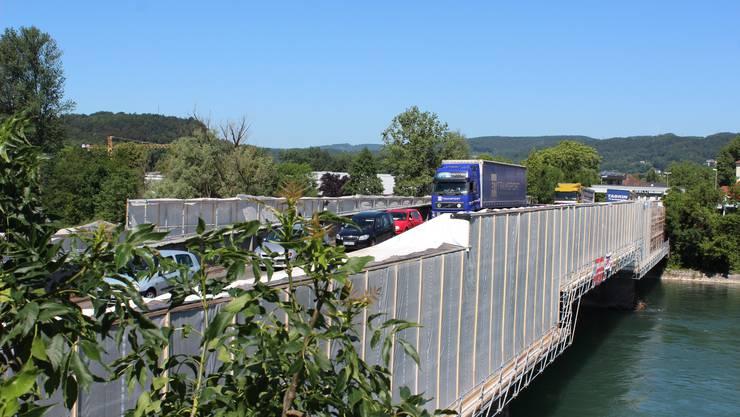 Die Zollbrücke in Koblenz wird zurzeit saniert. Drängen sich bald weitere Grenzübergänge auf?