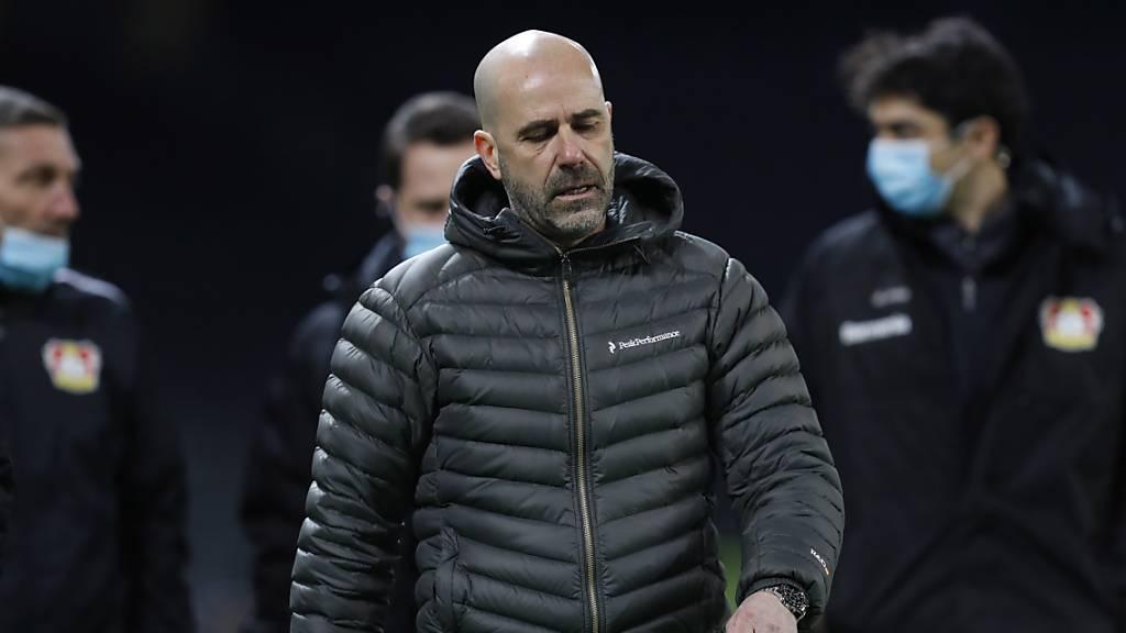 Leverkusen vermeidet Niederlage in letzter Sekunde
