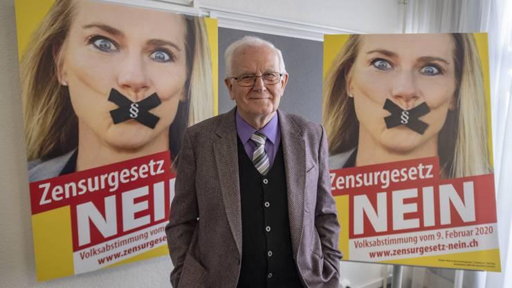 Der Kampf gegen die Ausweitung der Anti-Rassismusstrafnorm war Hans Mosers letzte Schlacht.