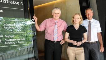 Christina Zumsteg liegt im Clinch mit ihrer Chefin Barbara Loppacher (Bild), die mit ihren Stellvertretern die Staatsanwaltschaft Lenzburg-Aarau führt.
