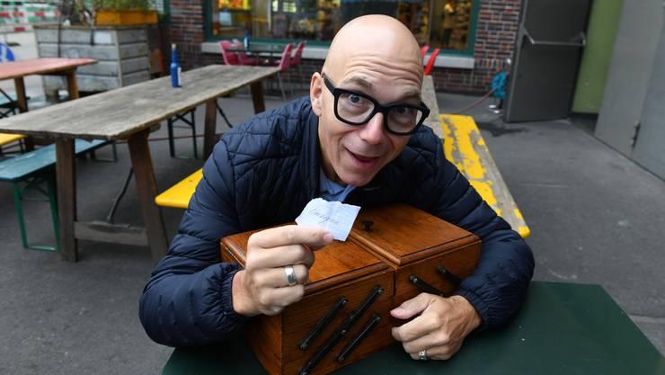 Renato Salvi hat den Begriff «Neubeginn» aus dem Nähkästchen der «Schweiz am Wochenende» gezogen.