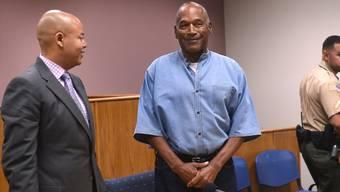 Wird vorzeitig aus der Haft entlassen: Der frühere Football-Star O.J. Simpson.
