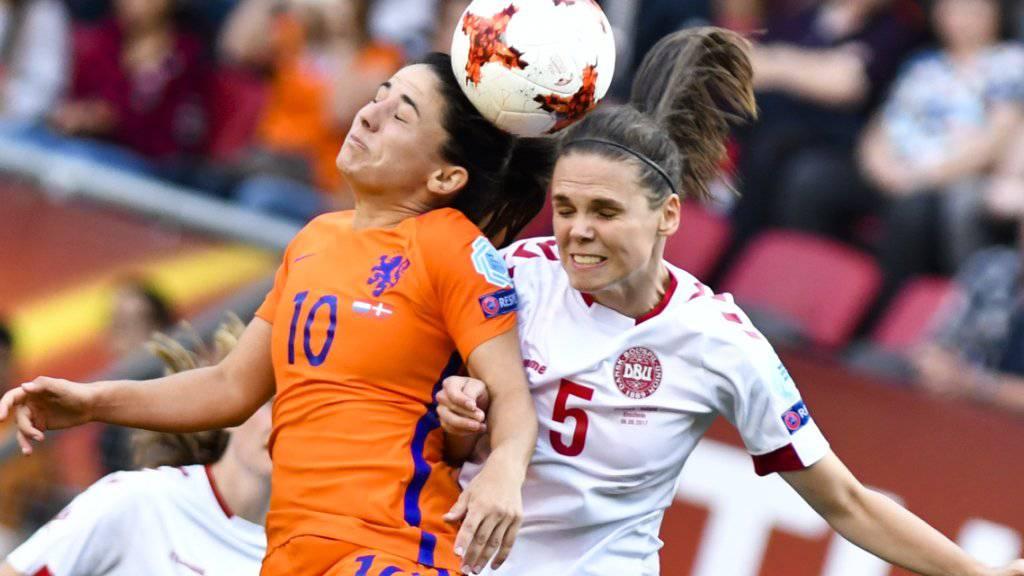 Es kommt nicht zur EM-Finalrevanche zwischen Niederlande und Dänemark
