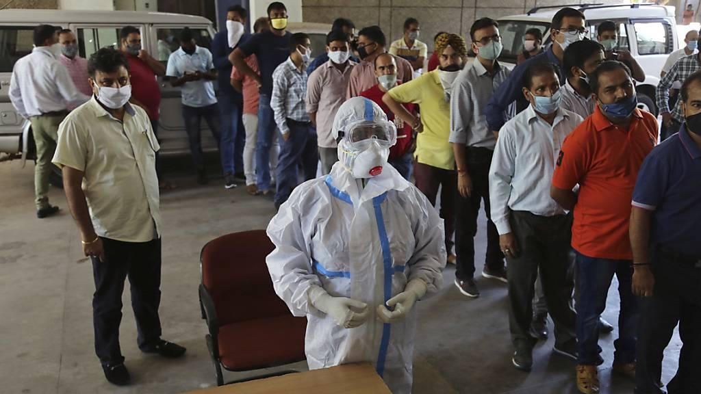 Indien hat mehr Corona-Fälle als Brasilien