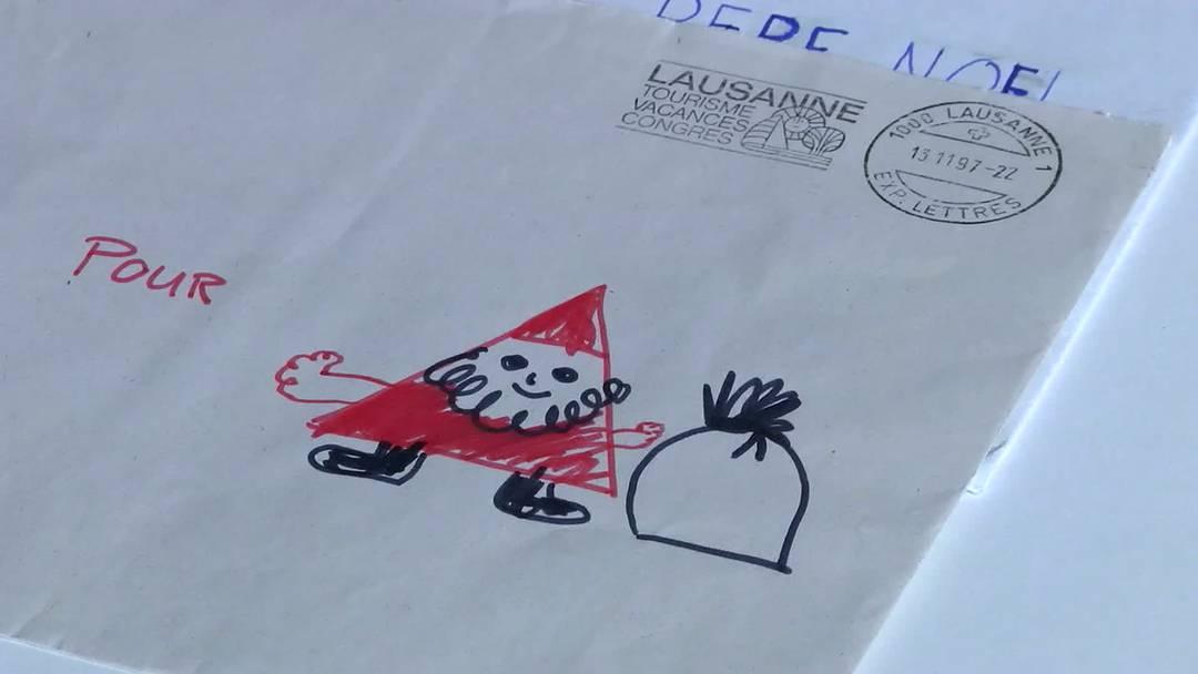 Jahr für Jahr schreiben Kinder in der Schweiz dem Christkind ihre Geschenkwünsche für Weihnachten. Gesammelt werden die Briefe im Museum für Kommunikation in Bern.