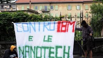 Der Prozess gegen die Öko-Anarchisten ruft auch Sympathisanten auf den Plan
