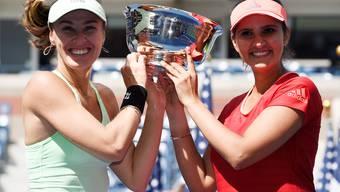 US-Open: Martina Hingis siegt im Doppel