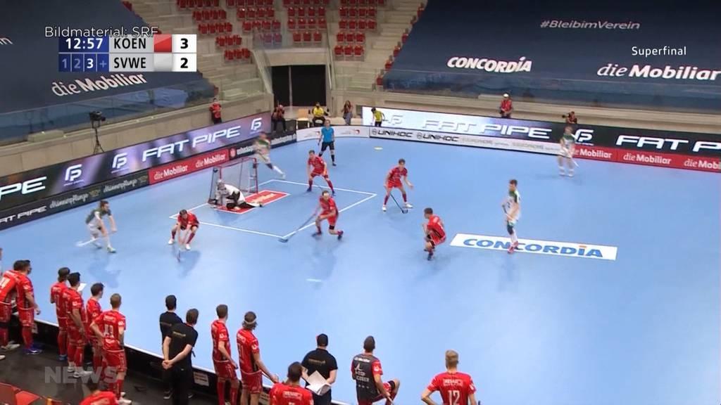 Wiler-Ersigen vs. Köniz: Unihockey-Superfinal 2021 ohne klaren Favoriten