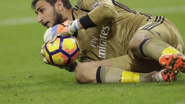 Der 17-jährige Torhüter Gianluigi Donnarumma avancierte mit einem parierten Penalty zum Helden der AC Milan
