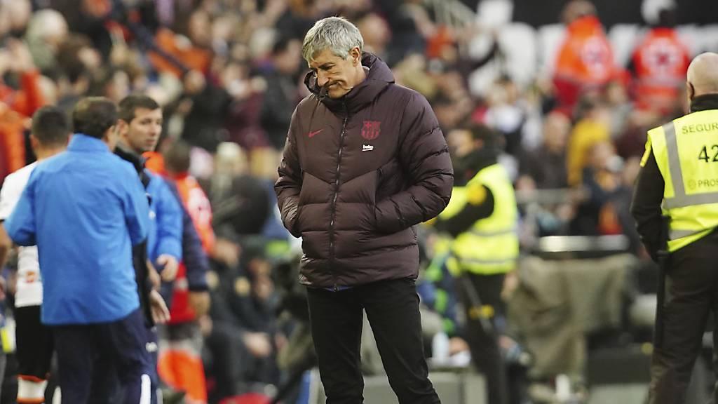 Erste Niederlage für Barcelona unter Trainer Setién