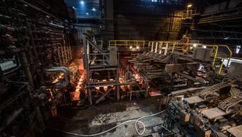 Stahlwerk Gerlafingen: Arbeiten in einem schwierigen Umfeld.