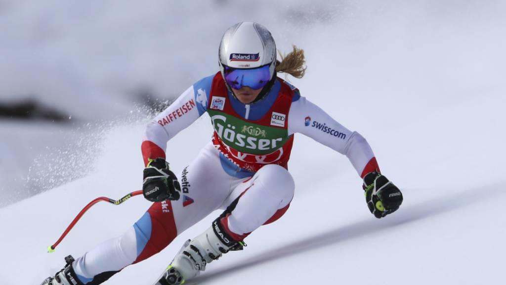 Corinne Suter auf Rang 5 beste Schweizerin – Goggia dominiert