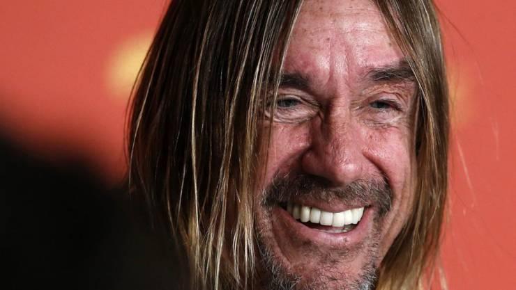 """Iggy Pop bei der Vorstellung des Films """"Gimme Danger"""" in Cannes: Der Musiker mit wilder Vergangenheit plauderte über seinen ach so gesunden Lebensstil."""