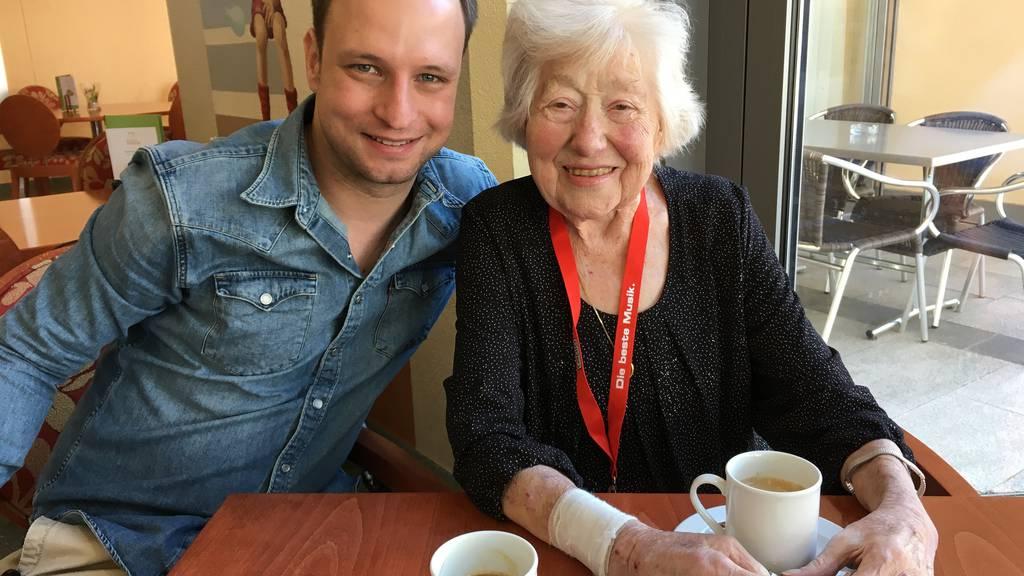Happy birthday: Frau Honegger wurde 92