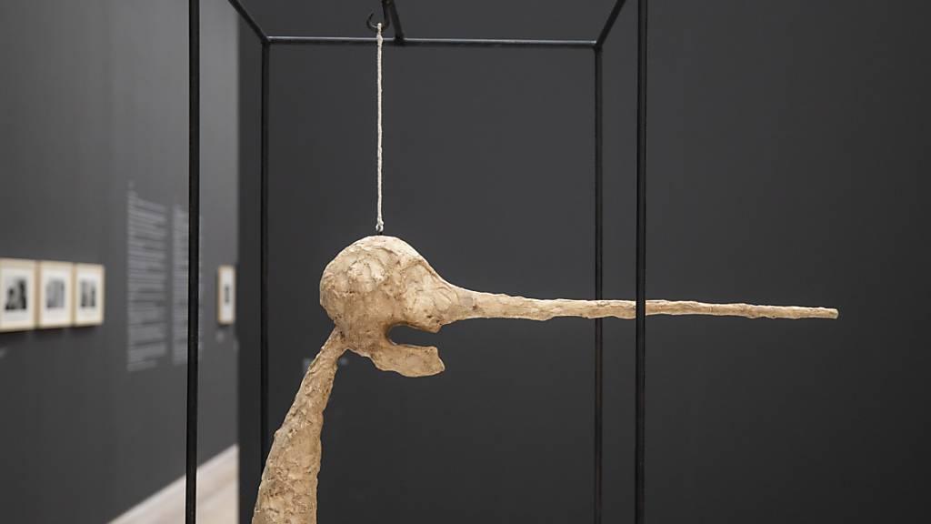 Die Figur «Die Nase» von Alberto Giacometti steht in New York zu Verkauf. (Archivbild)