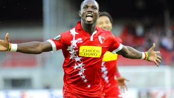 Sions zweifacher Torschütze Moussa Konaté