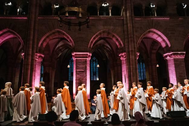 Prozession zur Einweihung des Münsters, 1019.