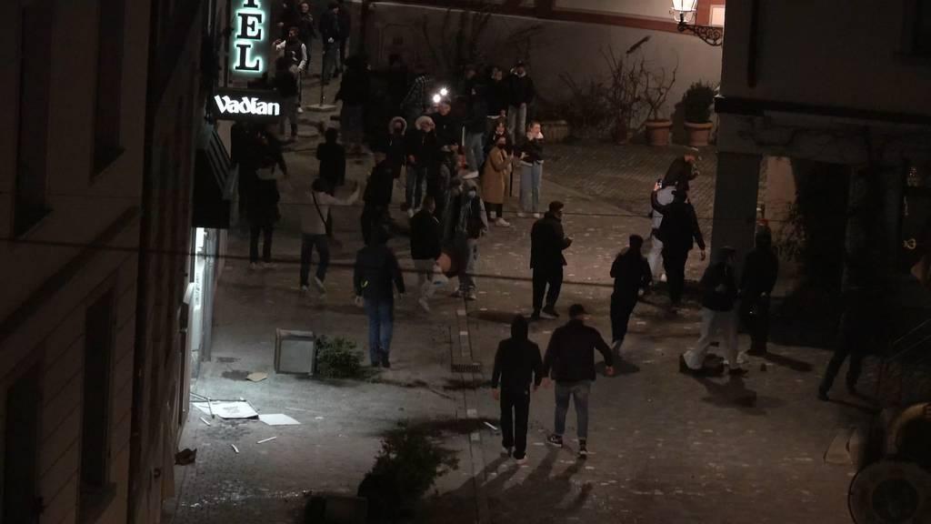 Jugendliche planen zweite Krawallnacht in St.Galler Innenstadt